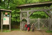 Gate to heart of the Bialowieza forest - to the Strict Reserve © Arek & Mateusz Szymura