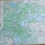 Map of Belarusian side of Bialowieza Forest